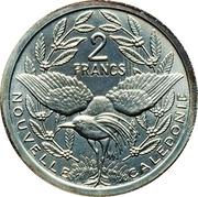 2 Francs (Piedfort silver) – reverse
