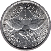 1 Franc (without IEOM) – reverse