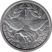 1 Franc (Union française) – reverse