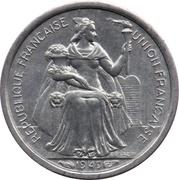 50 Centimes (Union Française) – obverse