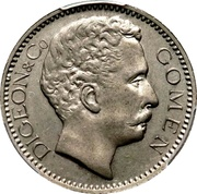 5 Francs (Gomen) – obverse