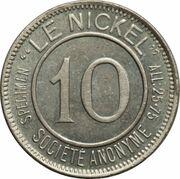 10 Centimes (Le Nickel) – obverse