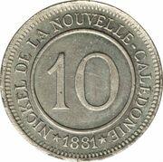 10 Centimes (Le Nickel) – reverse