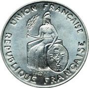 2 Francs (Essai aluminium, raised rim) – obverse