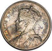 ½ Crown - George V -  obverse