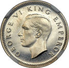3 Pence - George VI (2nd type) – obverse
