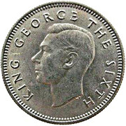 6 Pence - George VI (3rd type) – obverse