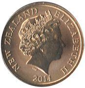 1 Dollar - Elizabeth II (4th Portrait;  Oakenshield) -  obverse