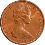 2 Cents - Elizabeth II (2nd portrait) -  obverse
