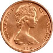 1 Cent - Elizabeth II (2nd portrait) – obverse