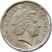 20 Cents - Elizabeth II (4th portrait; magnetic) -  obverse