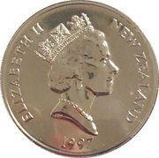5 Dollars - Elizabeth II (3rd Portrait; Christchurch) -  obverse