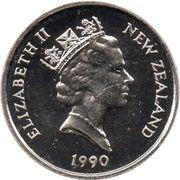 5 Cents - Elizabeth II (3rd portrait) -  obverse