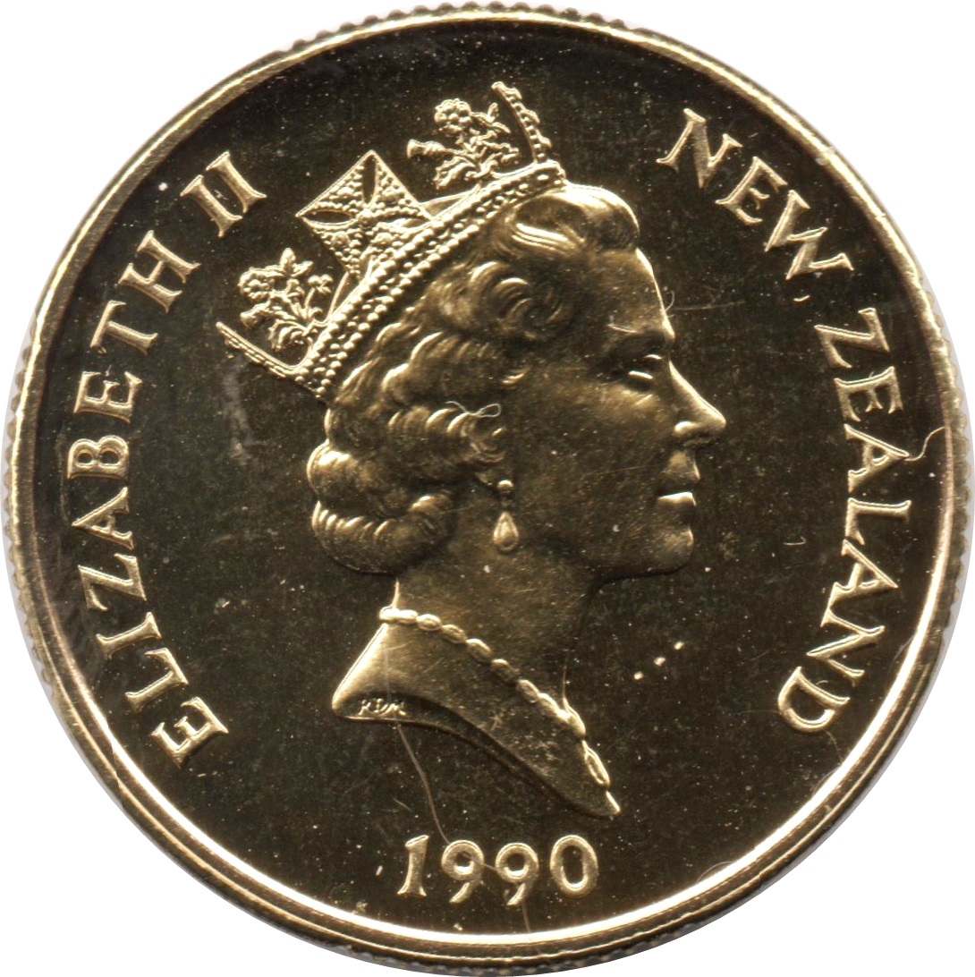 1 Dollar - Elizabeth II (3rd portrait) - New Zealand – Numista