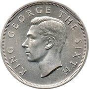 1 Crown - George VI (Royal Visit) – obverse