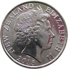 50 Cents - Elizabeth II (Centenary of the 1918 Armistice) – obverse