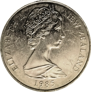 50 Cents - Elizabeth II (2nd portrait; mule) -  obverse