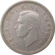 3 Pence - George VI (1st type) – obverse