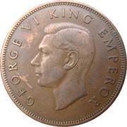1 Penny - George VI (1st type) – obverse