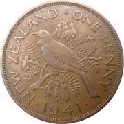 1 Penny - George VI (1st type) – reverse