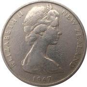 10 Cents / 1 Shilling - Elizabeth II (2nd portrait) – obverse
