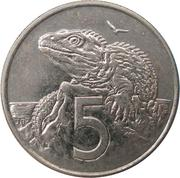 5 Cents - Elizabeth II (4th portrait) – reverse