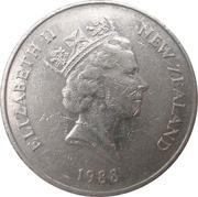 20 Cents - Elizabeth II (3rd portrait; Kiwi) -  obverse