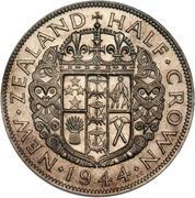 ½ Crown - George VI (1st type) – reverse