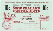 10 Cents - Postal Note – obverse