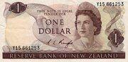 1 Dollar (Elizabeth II) – obverse