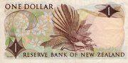 1 Dollar (Elizabeth II) -  reverse