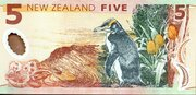 5 Dollars (Edmund Hillary) -  reverse
