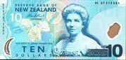 10 Dollars (Kate Sheppard) -  obverse