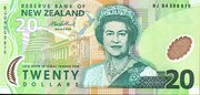 20 Dollars (Elizabeth II) -  obverse