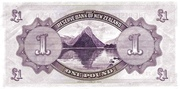1 Pound (Tawhiao) – reverse