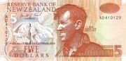 5 Dollars (Edmund Hillary) -  obverse