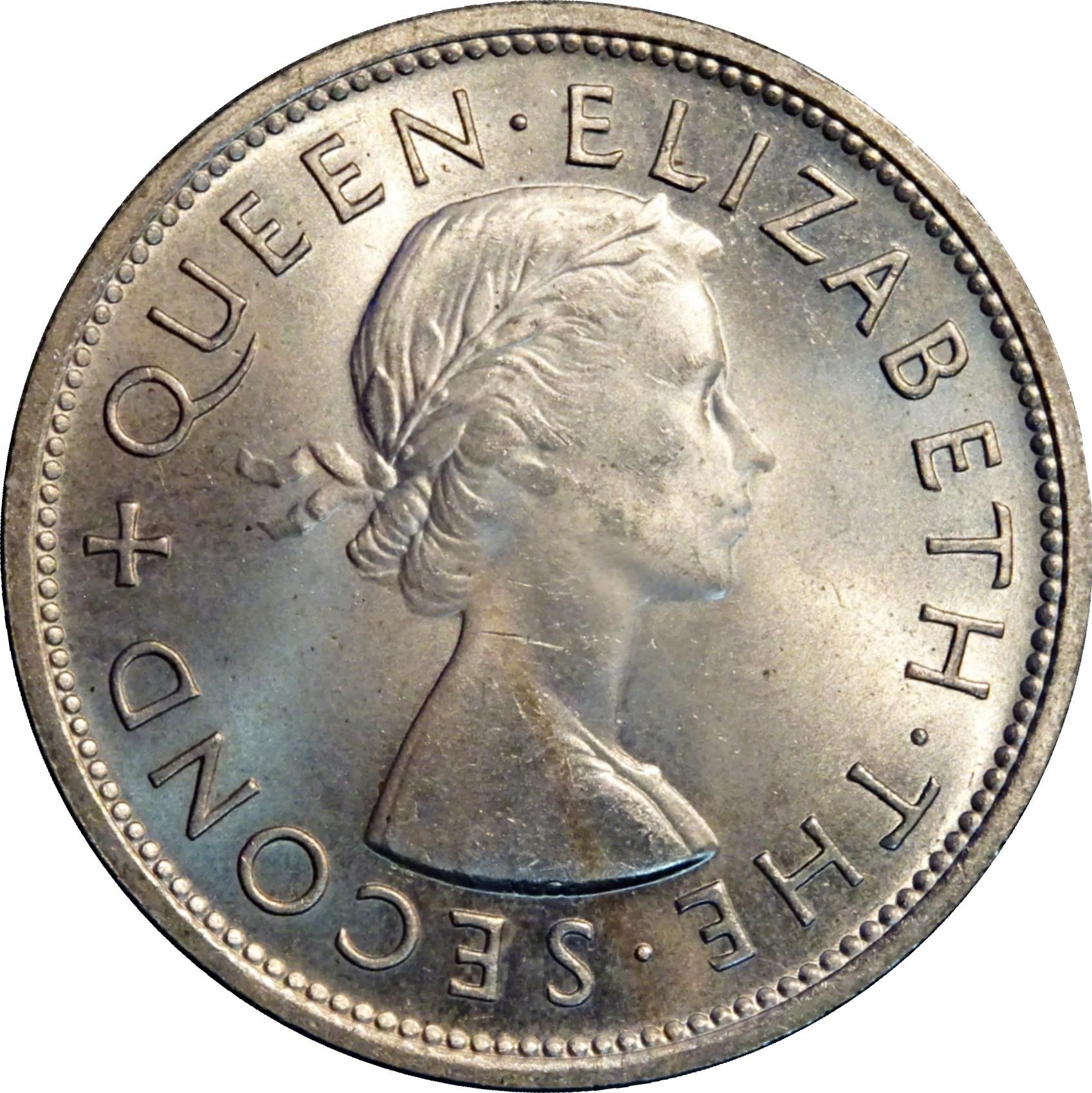 Coronation Coin New Zealand 1953 Crown 5