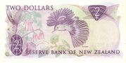 2 Dollars (Elizabeth II) – reverse