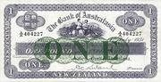 1 Pound (Bank of Australasia) – obverse