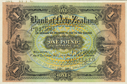 1 Pound (Bank of New Zeland) – obverse