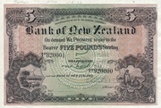 5 Pounds (Bank of New Zealand) – obverse