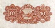 10 Pounds (Commercial Bank of Australia Ltd.) – reverse
