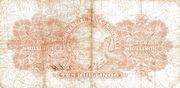 10 Shillings (Commercial Bank of Australia Ltd.) -  reverse