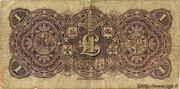 1 Pound - Victoria (Union Bank of Australia Ltd.) – reverse