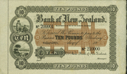 10 Pounds (Bank of New Zealand) – obverse