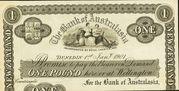 1 Pound (Bank of Australasia) -  obverse