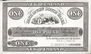 1 Pound (Bank of New South Wales) – obverse