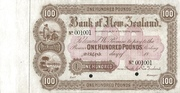 100 Pounds (Bank of New Zealand) – obverse