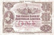 1 Pound - Victoria (Union Bank of Australia Limited) – obverse