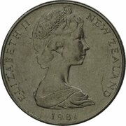 5 Cents - Elizabeth II (2nd portrait; Mule) – obverse